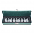 HONITON Torx socket set , T20-T60, 9 pcs.