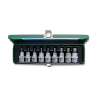 "HONITON Hex socket set , 1/2"", 4-17 mm"