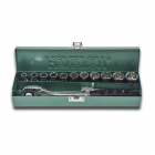 "HONITON Socket set , 12-angles, 1/2"", 13 pcs."