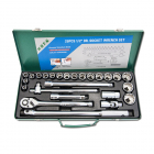 "HONITON Socket set , 12-angles, 1/2"", 25 pcs."