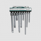 "HONITON Extension bar set , 1/4"", 3/8"", 1/2"", 9 pcs."