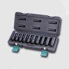 "HONITON Deep heavy socket set 1/2"" 10PCS 11-12-13-14-16-17-19-21-22-24MM"