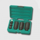 "HONITON Air impact socket head set 1/2"" 30-32-36mm, hex key 14-17-19mm"