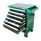 HONITON Roller cabinet with tools 215pcs  677x459x1000mm