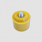 HONITON PU HEAD - YELLOW 32MM, INTERCHANGEABLE TIP MALLETS