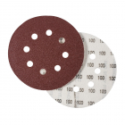 STAVTOOL sanding disc ?125 with 8holes,P100 1bal/6ks typ BOSCH