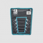 GK TOOLS Half moon spannes set 10-19mm, 5set