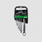 GK TOOLS Combination spanner set, satin finish, 6-22 mm, 8 pcs.