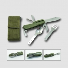STAVTOOL Pocket knife, 8 functions