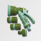 XTline Sprayer gun + set of fittings 8fci