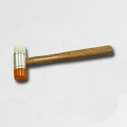 XTline Mallet, wooden handle, plastic ends 40mm