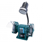 XTline Bench Grinder 150mm/300W + light 40W