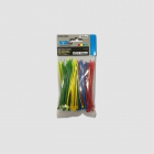 XTline Cable tie 100x2,5mm, 100pcs/set, (4x25pcs), 4 colors, nylon