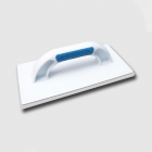 Kubala Plastic float, 140x280mm white rubber KUBALA
